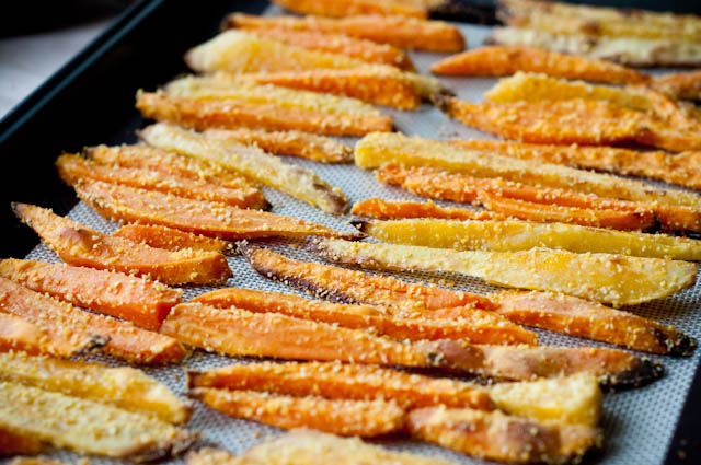 Sweet Potato Fries- Secret Recipe Club - Sweet & Savory